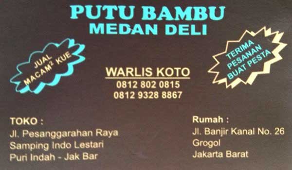 Putu-Bambu-Medan-Deli