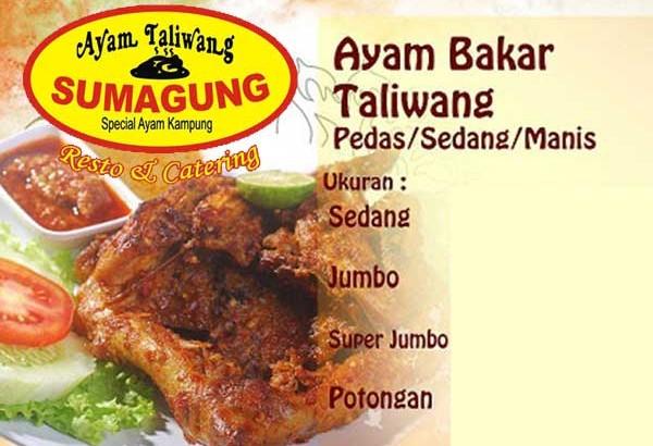 Sumagung Resto & Catering, Specialist Ayam Bakar Taliwang