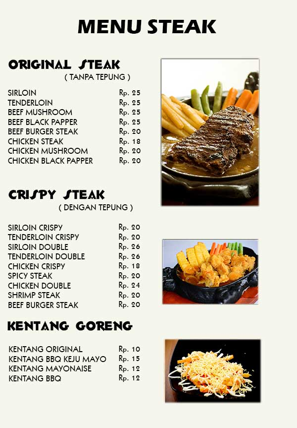 MENU-STEAK