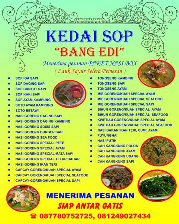 MENU-SOP-BANG-EDI