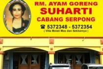 RM Ayam Goreng Suharti Cabang Serpong