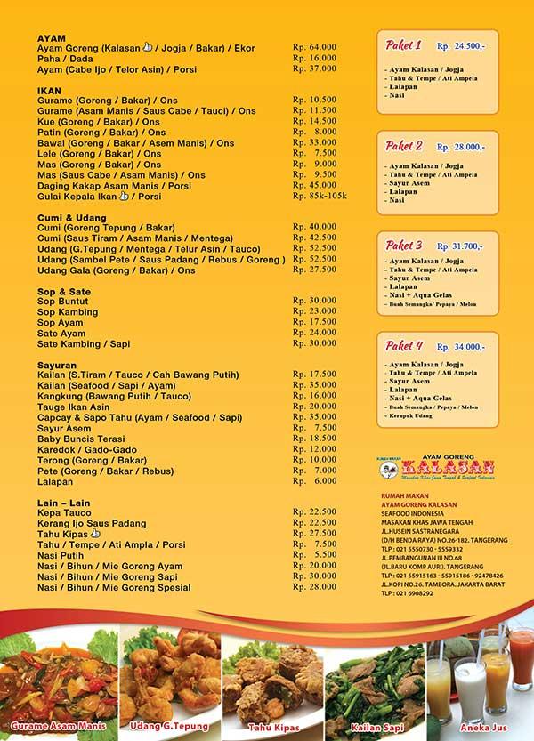 Ayam Goreng Kalasan3 Info Kuliner