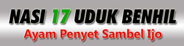 NASI-UDUK-BENHIL-17A