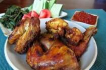 Nasi Bebek Ayam Goreng Ibu H. Mudiarti Khas Surabaya