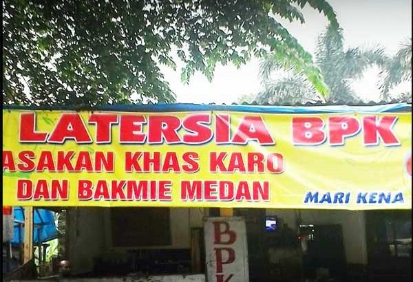 Rumah Makan Latersia BPK