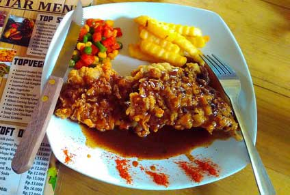 Top Ben Steak dan Top Sambal