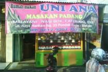Rumah Makan Uni Ana Masakan Padang