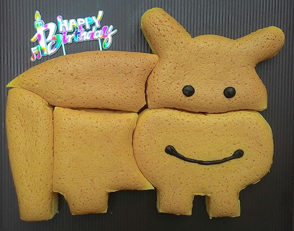 PUZZLEKEK (Japanese Cheese Cake in Puzzle)