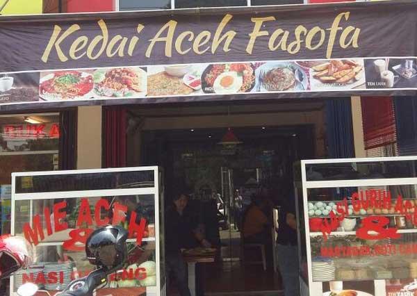 Kedai Aceh Fasofa