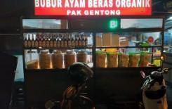 Burtong Bubur Ayam Beras Organik Pak Gentong
